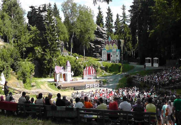 naturpark erzgebirge vogtland Naturtheater Greifensteine